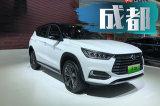 2018年成都国际车展探馆:新款比亚迪宋DM亮相