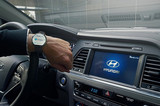现代推智能腕表 搭配Blue Link远程控车