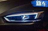奥迪全新A5敞篷版曝光 搭2.0T发动机/明年亮相