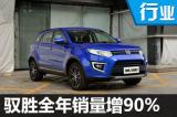 江铃驭胜2016年销量增90% 开发新SUV/MPV
