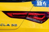 奔驰全新CLA旅行版实拍 4.9秒破百/竞争宝马M2
