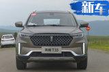 奔腾全新SUV—T33上市 竞争吉利缤越6.98万元起售