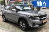 起亚全新小型SUV街拍 尺寸超本田缤智/9月发布