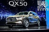 剑指中级SUV市场!洛杉矶车展实拍英菲尼迪QX50