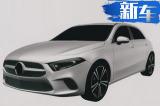 奔驰全新一代A级-国内谍照 预计24万元起售