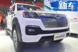 福田新能源皮卡智蓝亮相 厢式车型更具乘用化