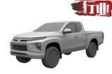 三菱L200专利曝光 搭超选四驱 引进国内竞争D-MAX