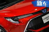丰田全新卡罗拉两厢版发布 主打运动/配双色车身
