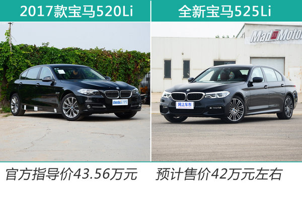 宝马全新5系将增入门版 2月上市/预计售42万元-图2