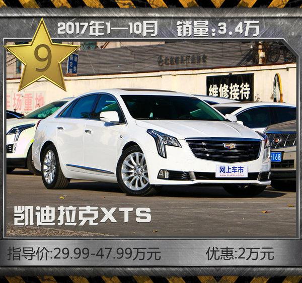 最热销10款豪华品牌轿车!10月最高优惠达7折-图12