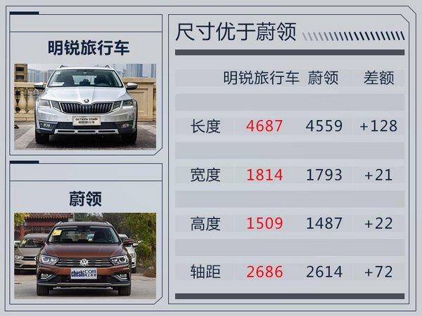 斯柯达明锐旅行车-22日上市 竞争大众蔚领-图1