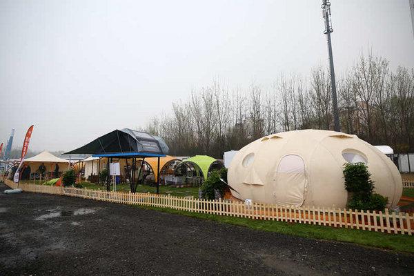 第14届北京(中国)盛装设备开幕展览国际露营钢处理胶水衬房车图片