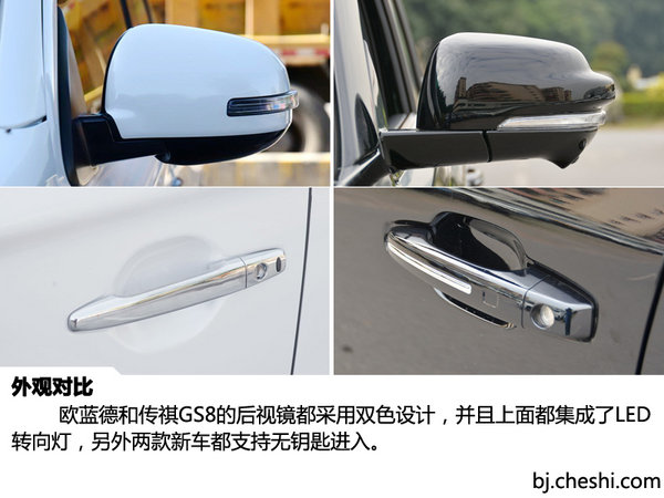 2047 广汽三菱欧蓝德 对比 广汽传祺GS8-图9