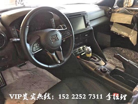 17款日产尼桑GTR超跑 火焰橘3.8T仅168万-图4