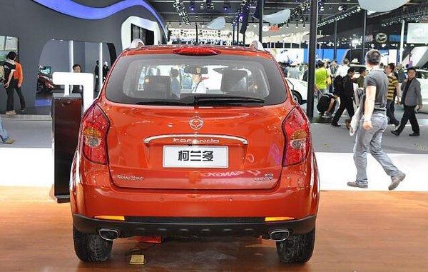 北京车展上市:新柯兰多柴油版16.98万起-图2