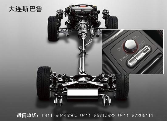 斯巴鲁四驱发动机 核心技术的完美集合