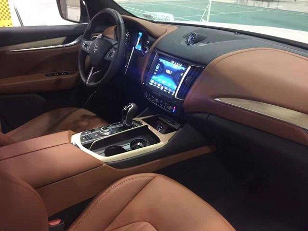 17款玛莎拉蒂莱万特S版 平行进口豪华SUV-图7