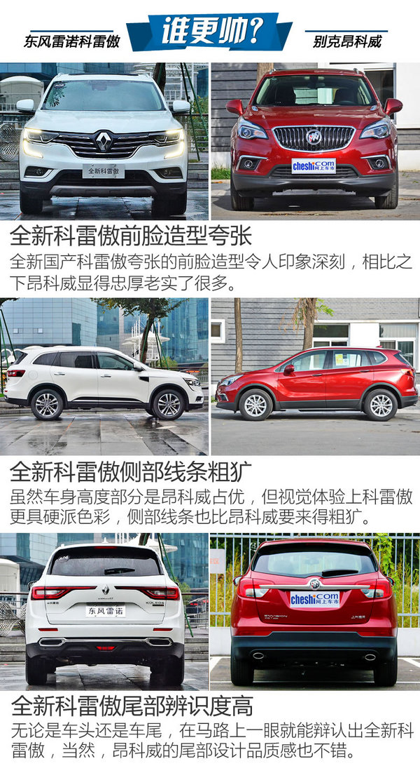 买辆大五座SUV 新科雷傲和昂科威哪个好?-图4
