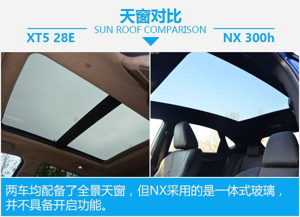 美式豪华还是日式运动 XT5 28E对比NX 300h-图5