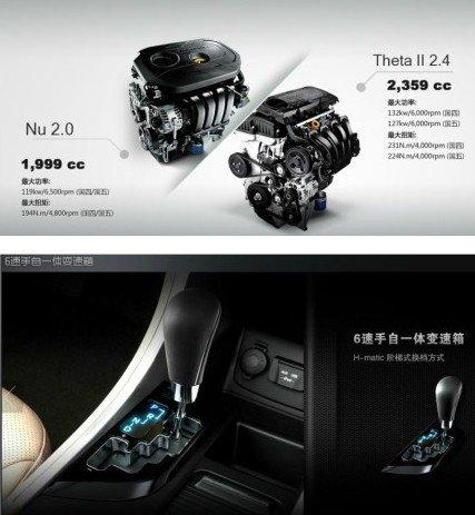 北京现代名发动机驭结构图