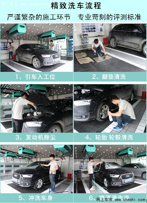 洗车质检流程步骤图