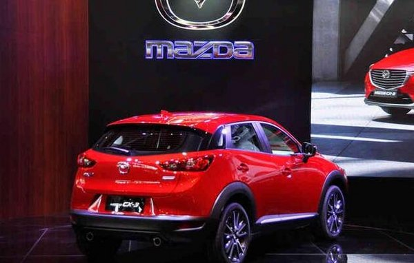 马自达CX-3预计售13万 2.0L先进口后国产-图3