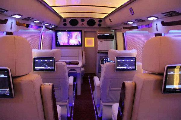 丰田考斯特 高端商务车销售改装案例解析-图17