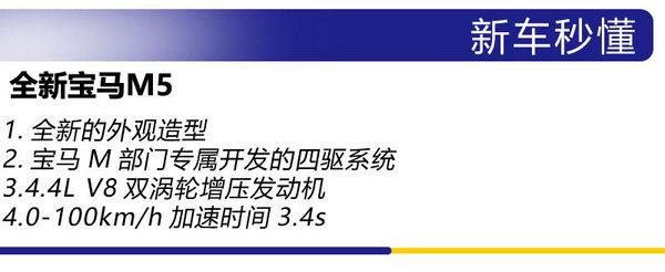 RS6/AMG E63终结者? 广州车展实拍全新宝马M5-图2