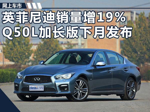 英菲尼迪9月销量增19% Q50L加长版下月发布-图1