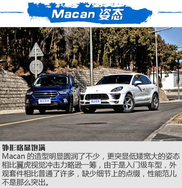 '屌丝的逆袭' 福特翼虎性能测试对比Macan-图3