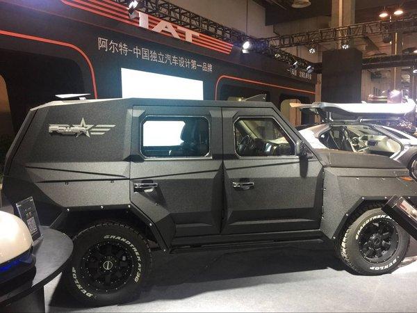 北汽BJ80顶级防弹防爆SUV  A1改装防弹车-图7
