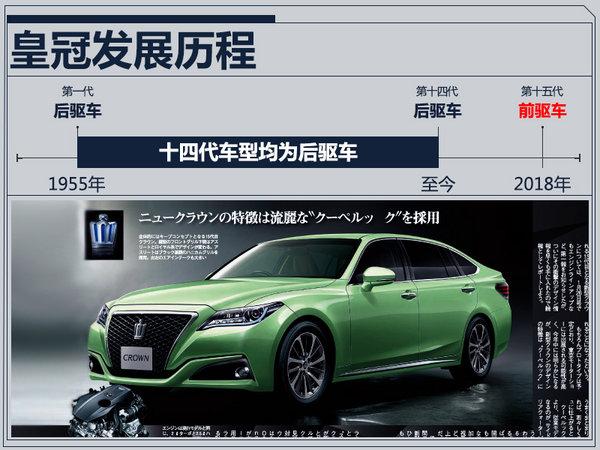 后驱改前驱更接地气 一汽丰田将国产换代皇冠-图2