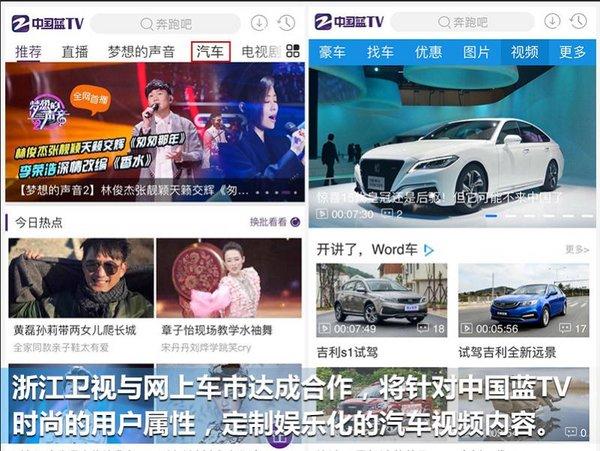 浙江卫视与网上车市合作 独家运营5大新媒体汽车频道-图2