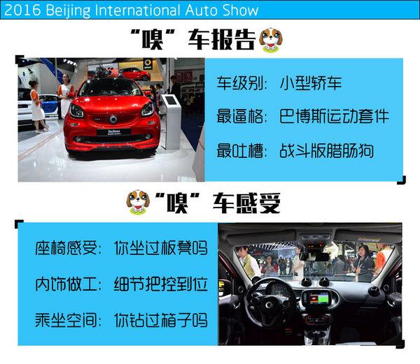 2016北京车展 巴博斯smart fortwo实拍-图2