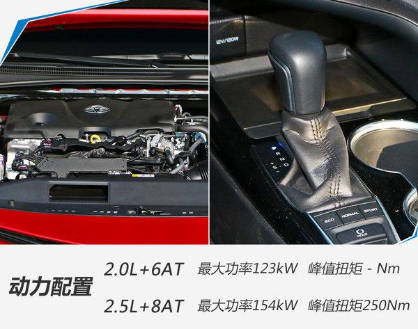 广汽丰田凯美瑞正式上市 售价-图8