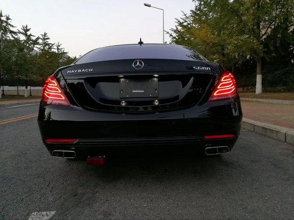 17款奔驰迈巴赫s600 黑曜限量版性能优良图片