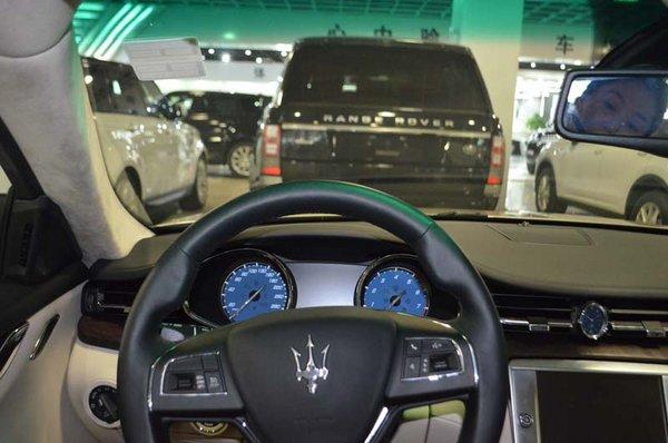 玛莎拉蒂总裁现车118万 超跑大降价福利
