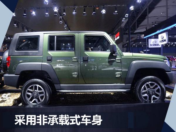北京汽车BJ40柴油版首发 搭2.0L自然吸气发动机-图3