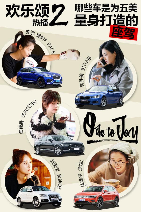 欢乐颂2热播 哪些车是为五美量身打造的座驾-图1