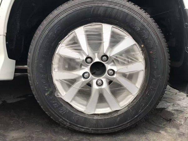 17款酷路泽4000蠕行模式V6 后挂备胎顶配-图8