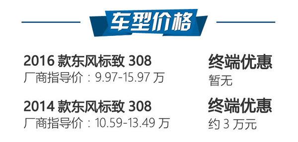 加长增配还降价 东风标致308新老对比-图2