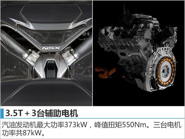 讴歌超级跑车NSX配置曝光 预售335万起-图2