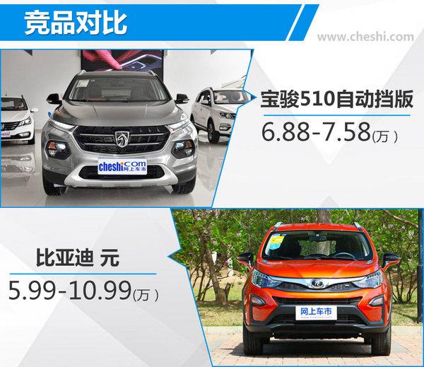 宝骏510自动豪华版正式上市 售:6.88-7.58万元-图2