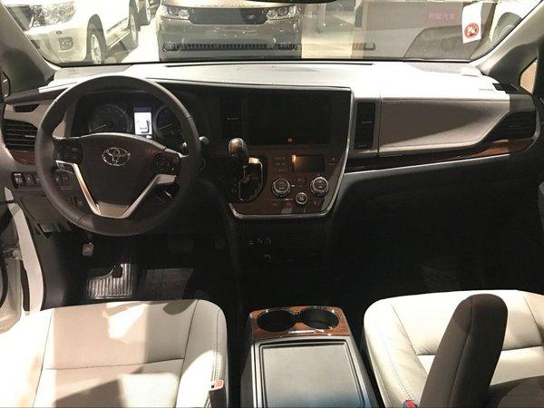 17款丰田塞纳四驱开年价格 八速深度解析-图4