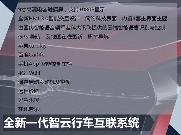 奇瑞瑞虎5x车型配置曝光 10月上市/8.38万起-图4