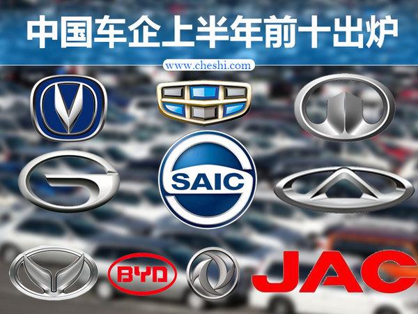 上半年中国车企60%成实现正增长
