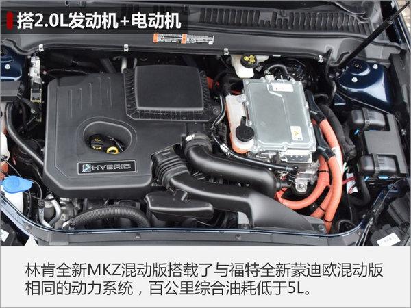 林肯推首款新能源车 MKZ混动版4月上市-图2