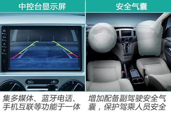 郑州日产新NV200上市 最高涨2千/售11.98万起-图3