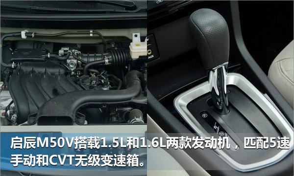 东风启辰M50V正式上市 售价6.58-8.49万-图7