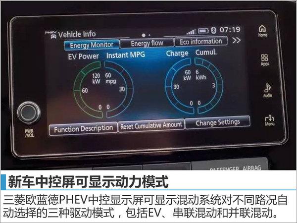 三菱欧蓝德PHEV将入华 油耗大幅下降-图-图5